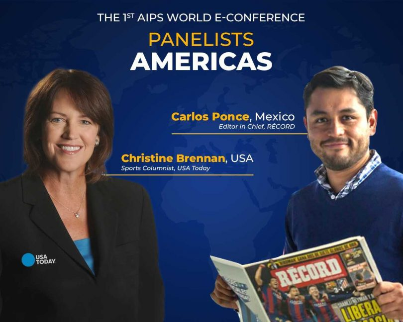 Top sportswriters to represent the Americas on the World Sport Journalists Day