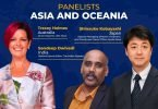 Asian and Oceanian veterans among the panelists